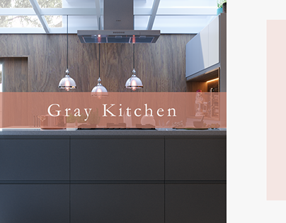 Gray Kitchen | CGI