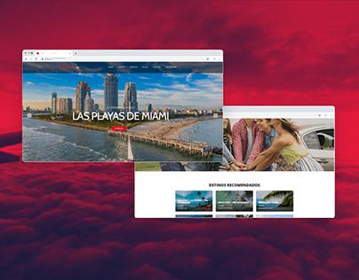 Diseño web - Travel time.