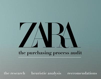 UX AUDIT OF ZARA'S WEBSITE