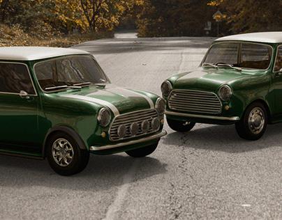 Austin Mini Cooper - 1968 - Free download - 3D model