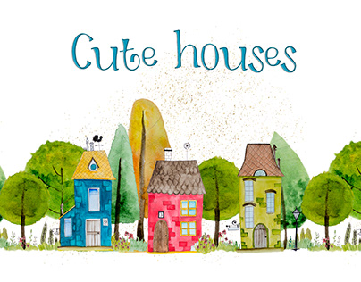 Cute houses.