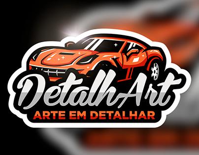 Criação de logo e cartão DetalhArt