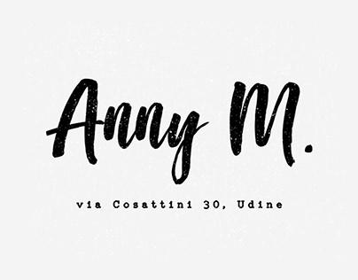 Anny M. • branding