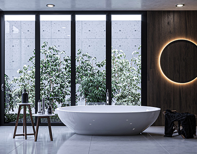 Bathroom Design in Warsaw Poland