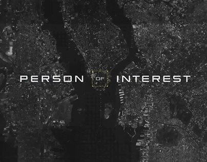 Person of Interest TV Titling Logotype