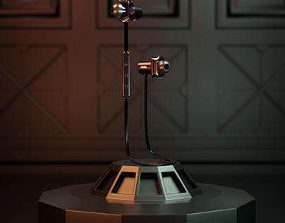 Raved wireless headphone visualization