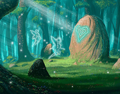Fairy Forest Illustration