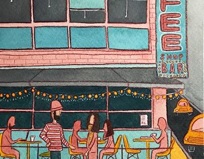 NYC Illustrations: Union Square
