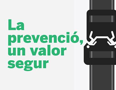 La prevenció, un valor segur | Poster set