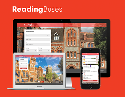Reading Buses - Responsive web design