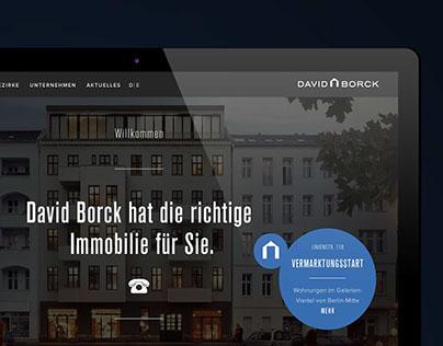 David Borck - Website & UI/UX