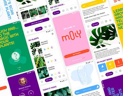 MOLY   Concept App