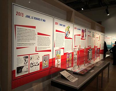 Exposition / Musée de la civilisation de Québec