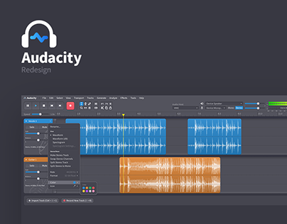 Audacity Redesign