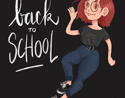 Back to School illustration