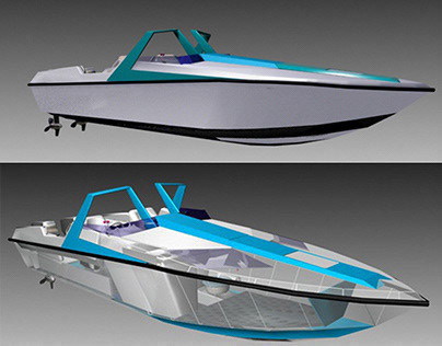 24' CONVERTIBLE OFFSHORE POWERBOAT