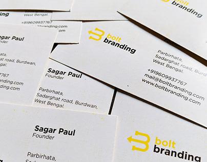 Branding of Bolt Branding Studios.