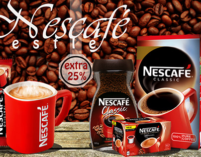 Announcement of discounts on Nescafe products