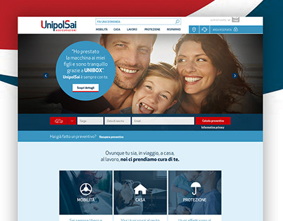 UnipolSai - Website & App