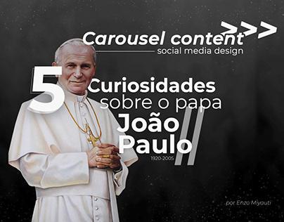 5 curiosidades Papa João Paulo II