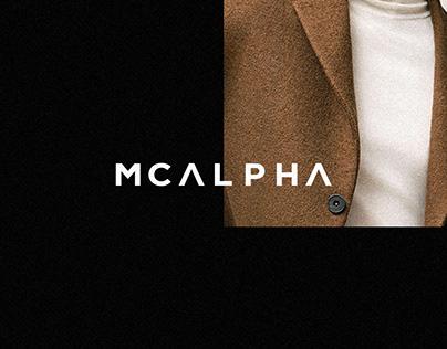 Mcalpha — Visual Identity