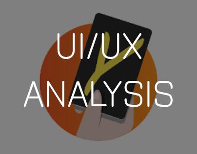 App UI/UX analysis
