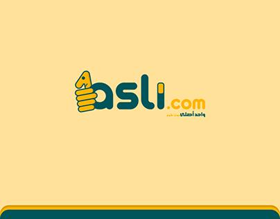 1asli.com | Rebranding - UX/UI - Advertising