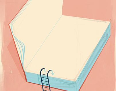 "Editorial image: "" Invite to reading"""