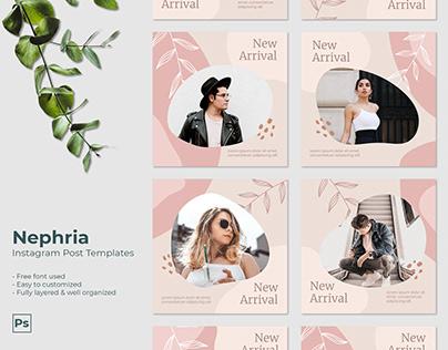 Nephria Facebook & Instagram Post