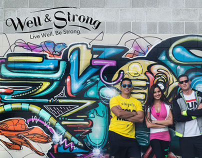 Well & Strong Branding Project