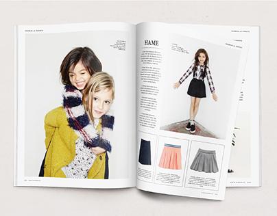 Children's Magazine Layout