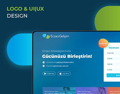Eczacı Gelişim | Logo & UI|UX