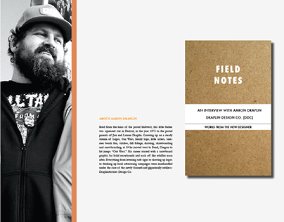 Aaron Draplin Interview
