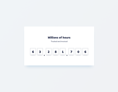 Day 892 • Counter UI Design