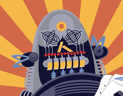 Gizmodo Animated Editorial Illustration