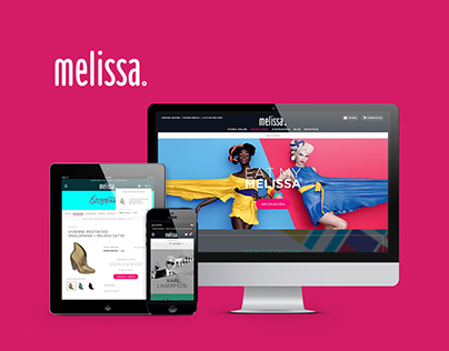 MELIISSA SHOES Web Design