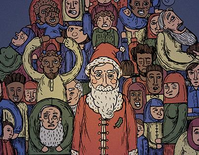 Christmas Illustration - Jornal de Notícias