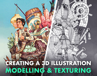 Creating a 3D Illustration