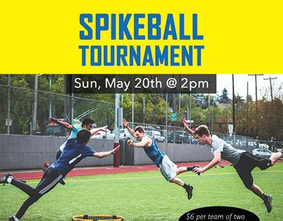 SPU Spikeball Tournament