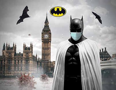 Batman joined the white army