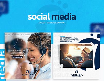 Social Media - Agiliza Assistência 24 horas
