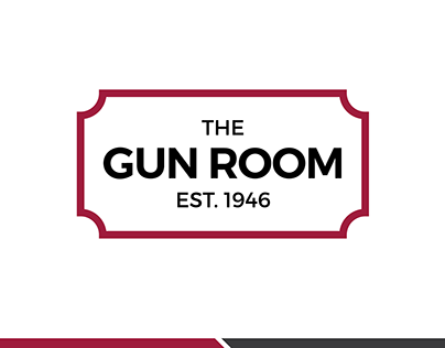 The Gun Room logo design