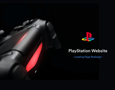 PlayStation Landing Page Redesign