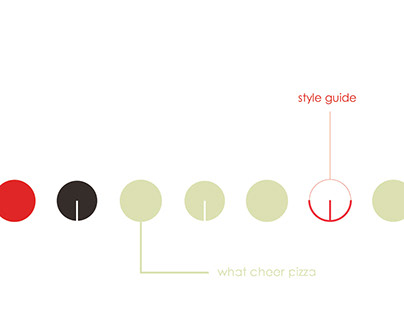 What Cheer Pizza Brand Identity Manual