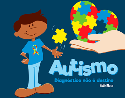 Campanha de conscientização - Autismo