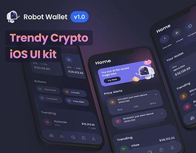 RobotWallet: Crypto iOS UI Kit