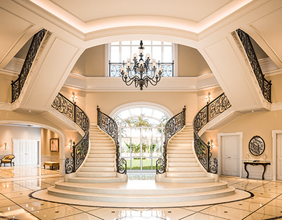 Luxury Staircase Hall