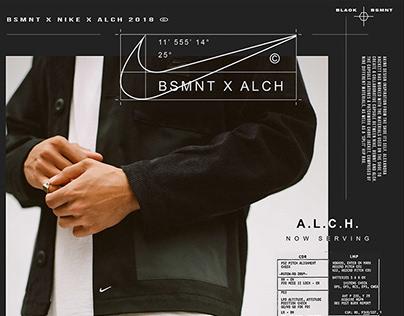Print - NIKE x BSMNT x ALCH