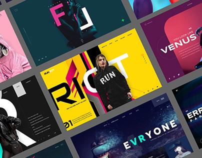 Best Of 2020 - Ui/U Landing Page Designs
