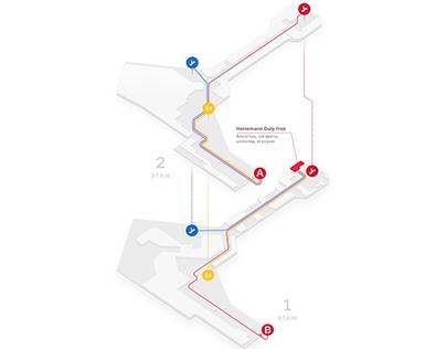«Heinemann» Duty Free maps